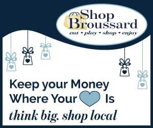 Shop Broussard! – Shop Local – Eat, Play, Shop, Enjoy!